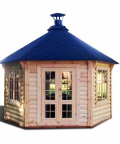 Pavillon med grill 9,2 m²