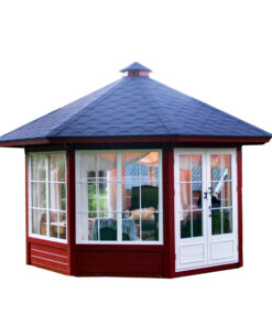 Træpavillon 10 m² (fyrretræ)