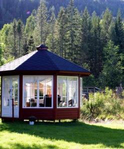 Træpavillon 10 m2