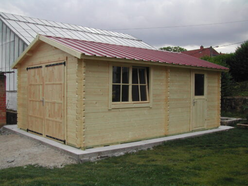 Træ Garage