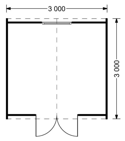 Havehuse Pod BRETAGNE 9m²