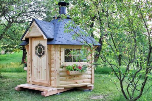 Lille Grillhytte (4,5 m²)