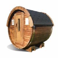 Sauna tønde af thermowood