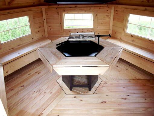 Grillhytte 9.2 m2, grillkåta 9.2 m2