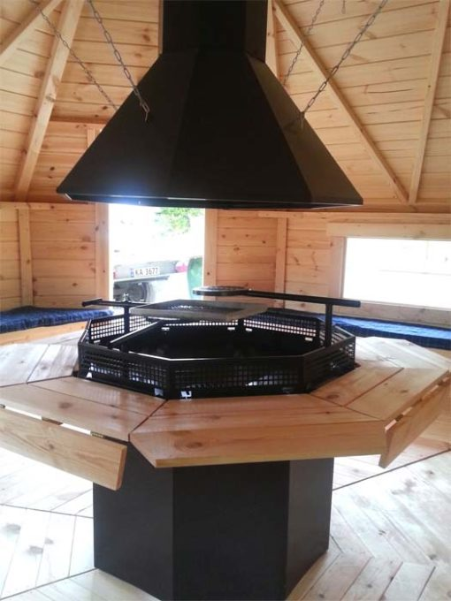 Grillhytte 16.5 m²