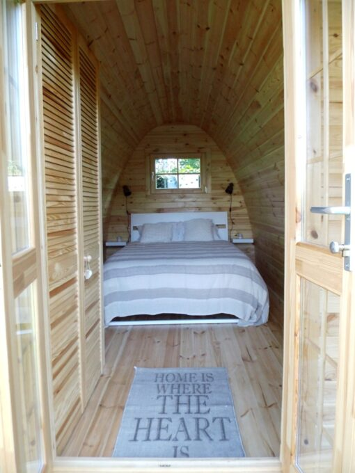 CampingHytte – 2 rums Camping Pod 4 m