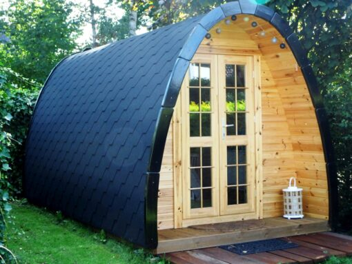 Camping Hytte – 2 rums Camping Pod 4 m