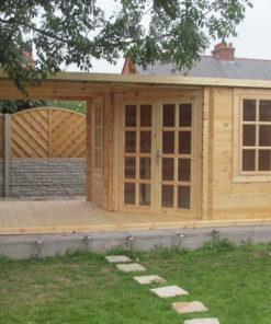 Havehus med terrasse AISNE PLUS 9m²