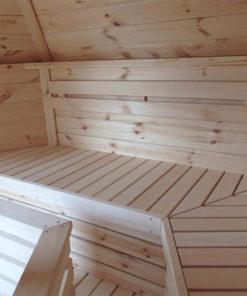 Sauna hytte - bænke