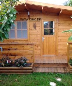 Gæstehus bjælkehytte NICE (25 m2-36 m2)