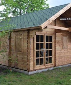 Sommer bjælkehus med hems SCOOT 27m² + 11m²