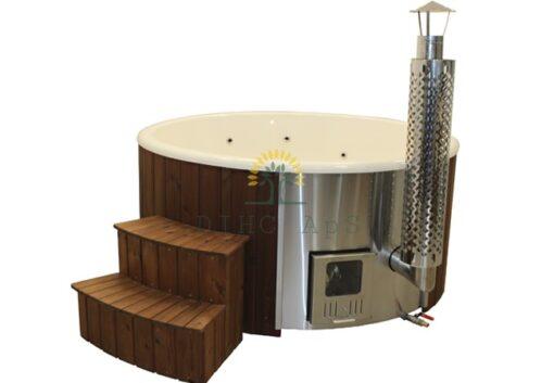 Vildmarksbad med Integreret ovn