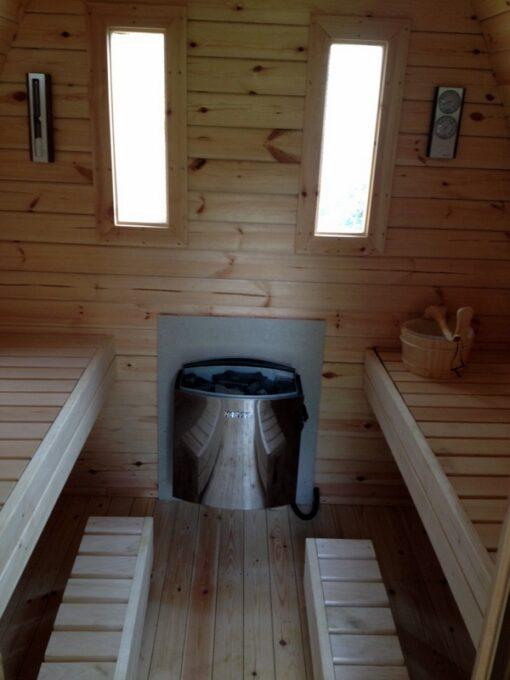 Sauna pod 3 m.
