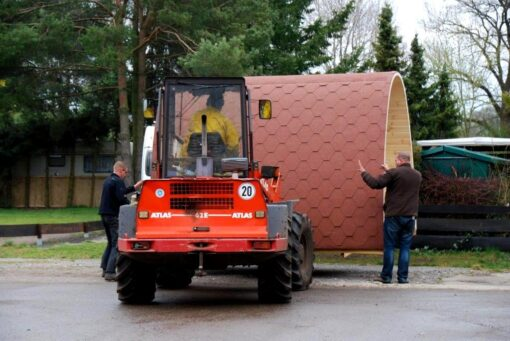 Luksus Camping Pod