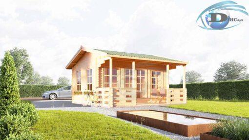 Gæstehus ROYAL 25m² med terrasse
