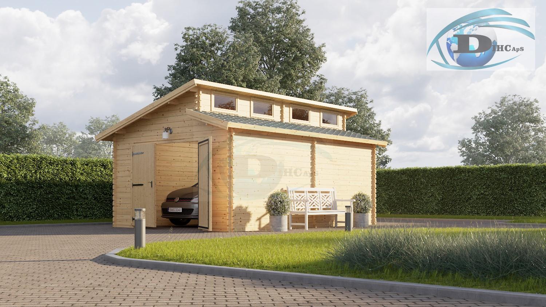 garage 4 x 6 m twin dihc dk. Black Bedroom Furniture Sets. Home Design Ideas