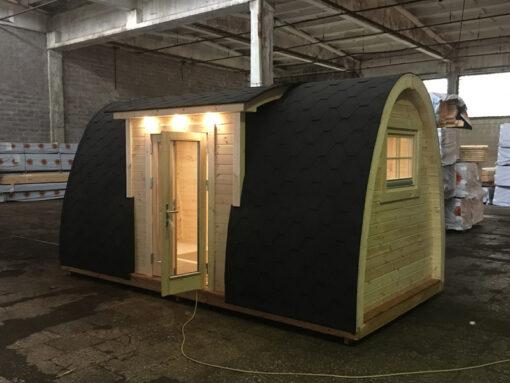 Luksus Isoleret Camping Pod 4.8 m (med sideindgang)