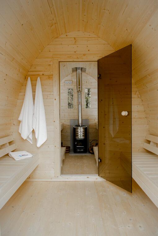 Sauna pod 4 m