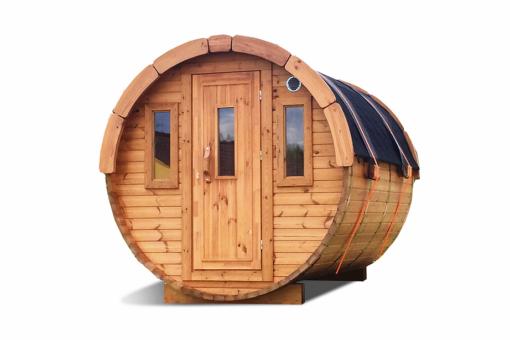 Sauna tønde 2.4m af thermowood