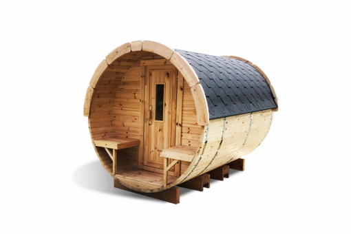 Sauna tønde 3 m af thermowood