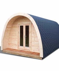 Luksus Isoleret Camping Pod 3,25 x 4,8-5,9