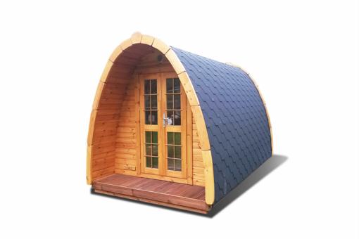 Camping Pod 3,5-4,0 - fyrretræ