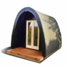 Luksus Isoleret Camping Pod