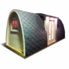 Luksus Isoleret Camping Pod 6.6m (m/sideindgang)