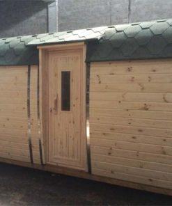 "Camping hytte - ""Bus"" 2.3 m x 3.5 m"