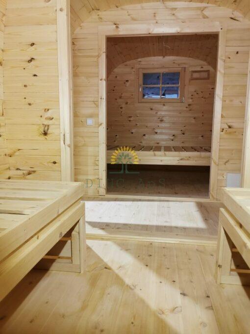 "Camping hytte - ""Bus"" 2.3 m x 5.9 m"