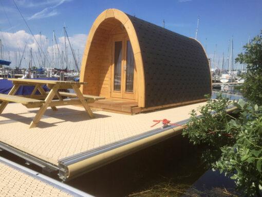 Luksus Isoleret Camping Pod 4m