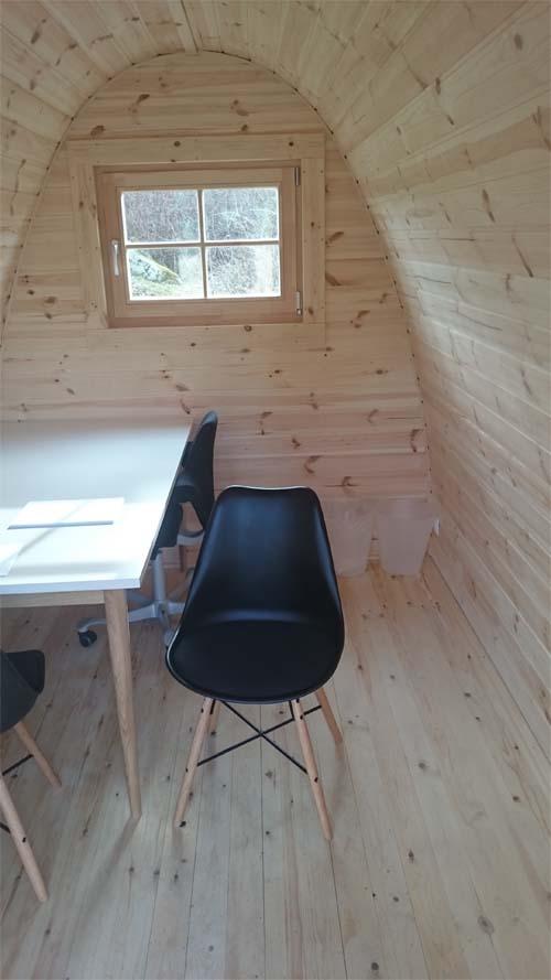 Luksus Isoleret Camping Pod 3.5 m