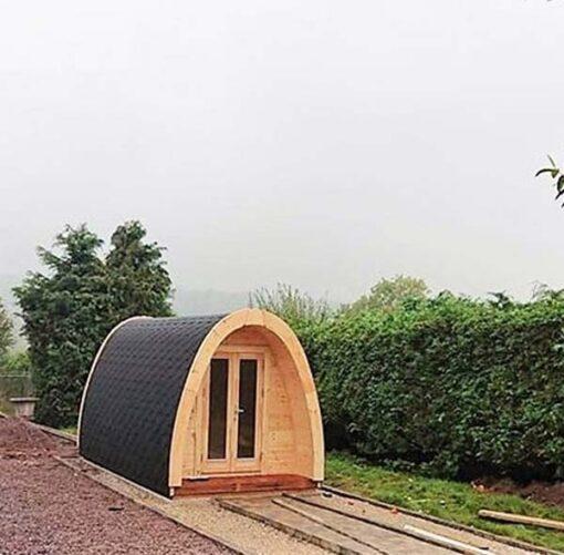Luksus Isoleret Camping Pod 4.8 m