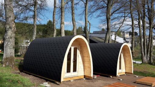 Luksus Isoleret Camping Pod 2.4 m x 5.9 m