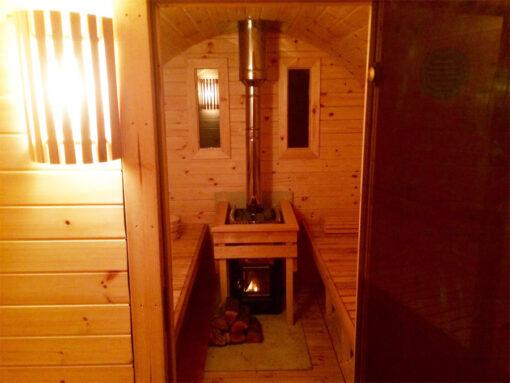 Sauna tønde 4.0 m