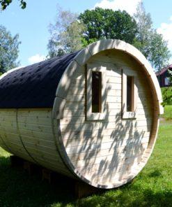 Sauna tønde 2.4 m / Ø 2.27