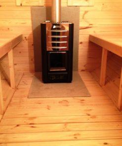 Sauna tønde 3.5 m / Ø 1.97