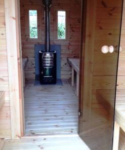 Sauna tønde (med omklædningsrum