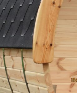 Sauna tønde 3 m / Ø 2.27