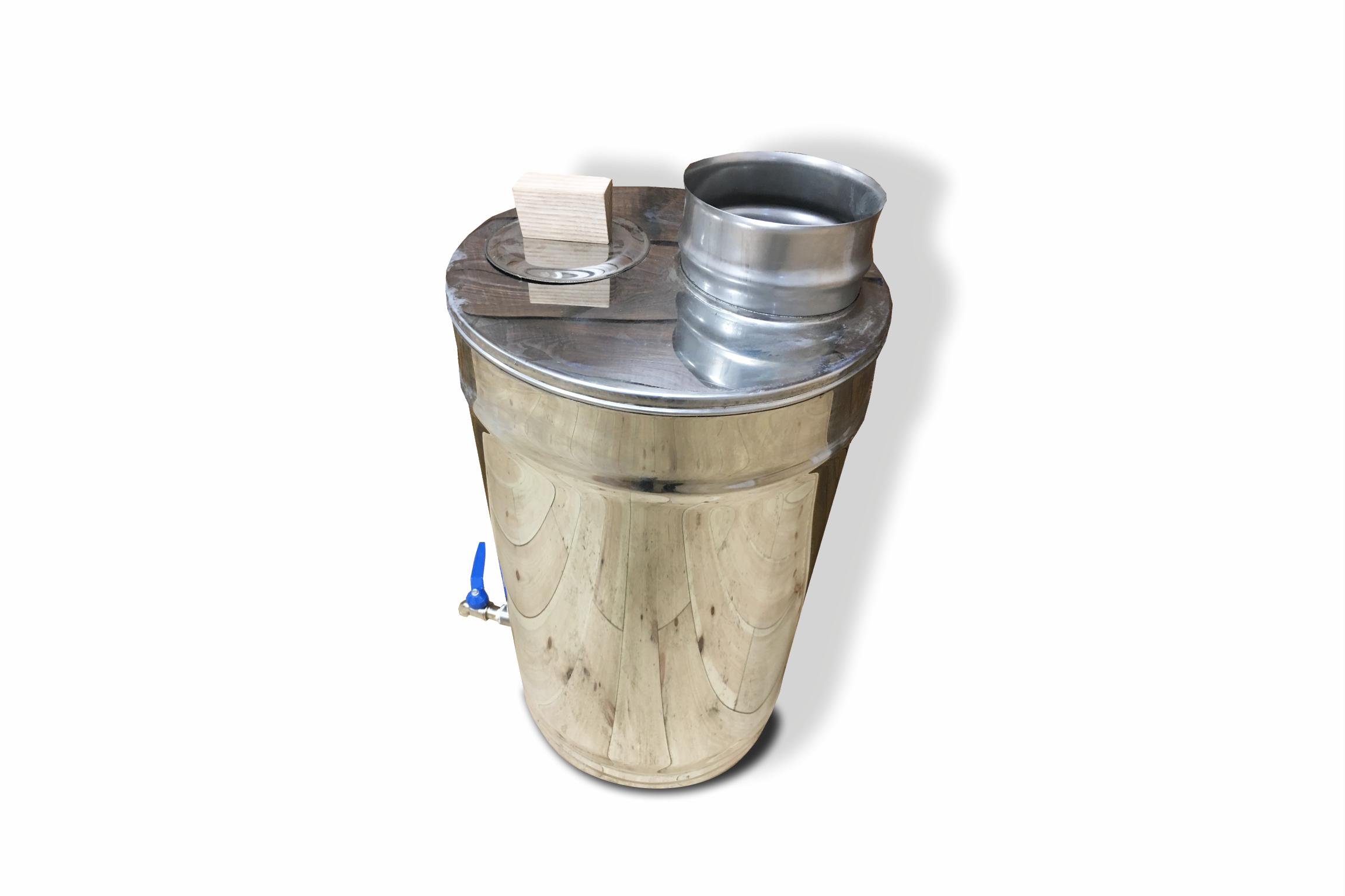Vandtank 30 liter til brændeovn