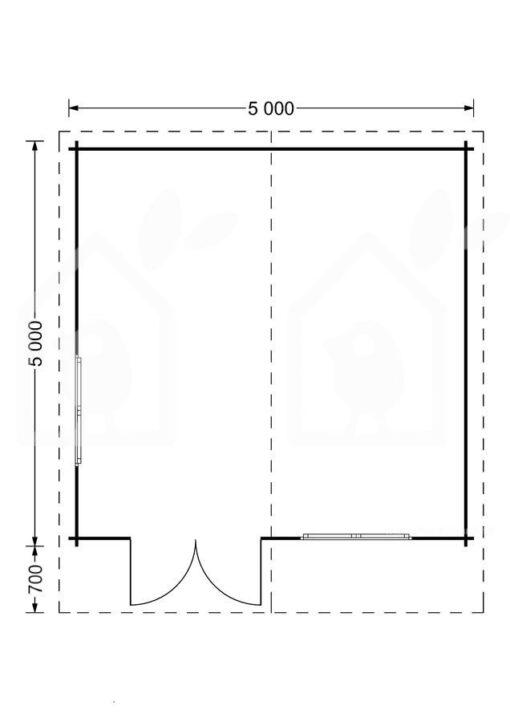 Havehuse LILLE 25m²