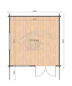 Linus 4x4 floor plan