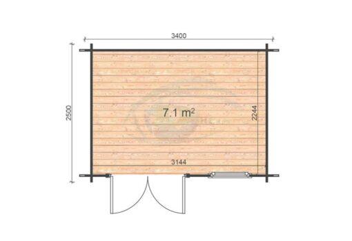 Erna 2.5x3.4 floor plan