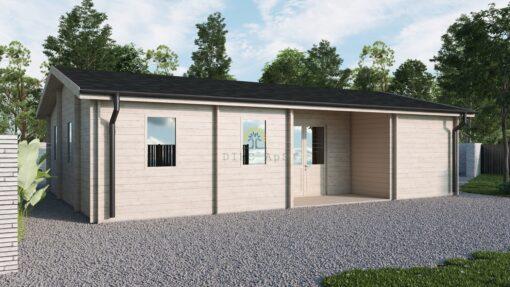 Sommerhus Julit 63.5 m² + 5.7 m² terrasse
