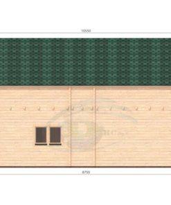 Sommerhus Verona 51,8m², 68mm_left