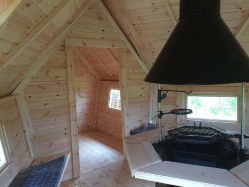 Eksklusiv Grillhytte 9.2 m² med 2 m udvidelse