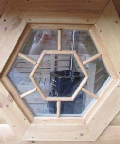Sauna hytte - Vindue