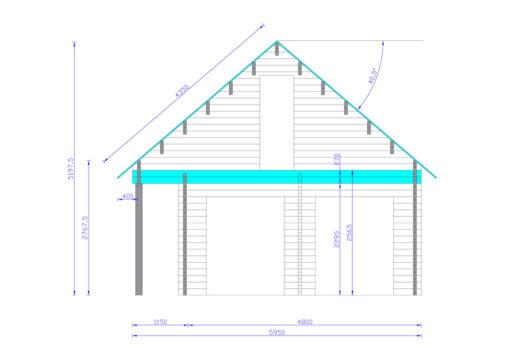 Feriehus AURA 72 m²