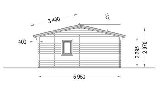 Feriehus MARINA 48 m²