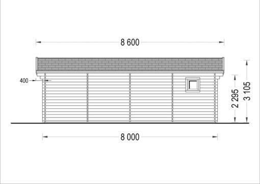 Feriehus MILA 56 m²